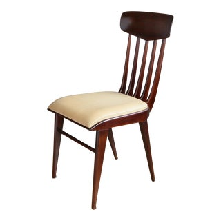 Set of Six Dining Chairs Attributed to Guglielmo Ulrich