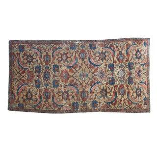 """Antique Persian Sultanabad Carpet - 4'3"""" x 8'2"""""""