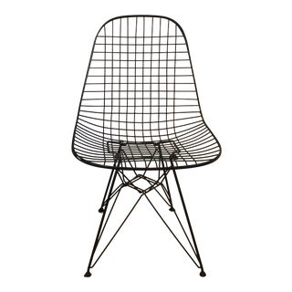Mid-Century Eames Wire Side Chair