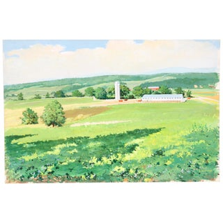 Open Land, C. 1950 Painting