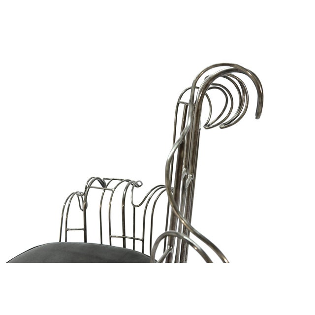 Organic Baroque Chair by Tony Duquette - Image 4 of 7