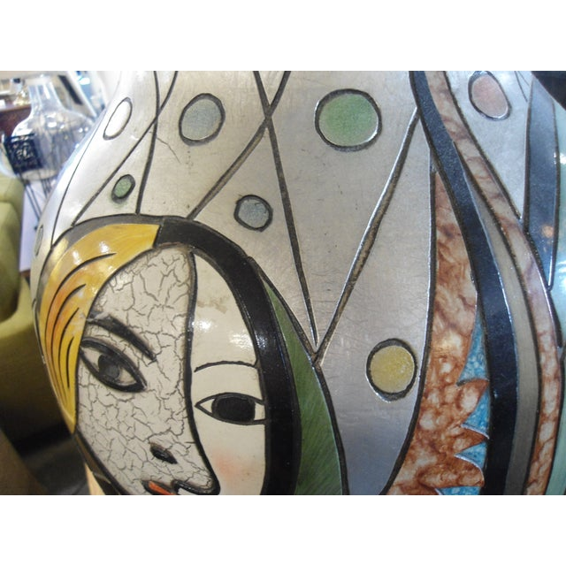 """""""Girl Before a Mirror"""" Picasso Vase - Image 4 of 7"""