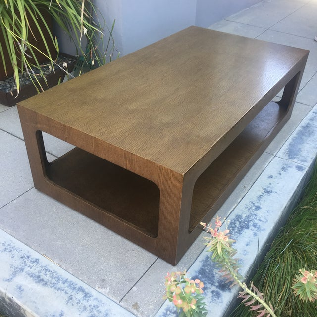 Modern Coffee Table Brown: Modern Brown Coffee Table