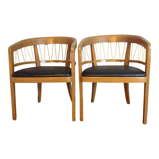 Image of Edward Wormley for Drexel Armchairs - A Pair