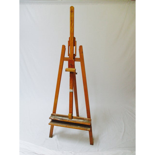 Image of French Standing Wood Easel