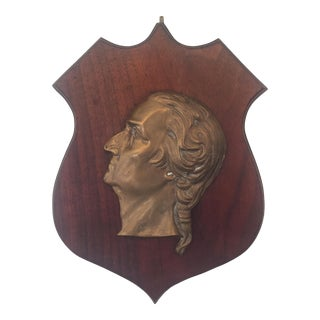 Vintage George Washington Wall Plaque