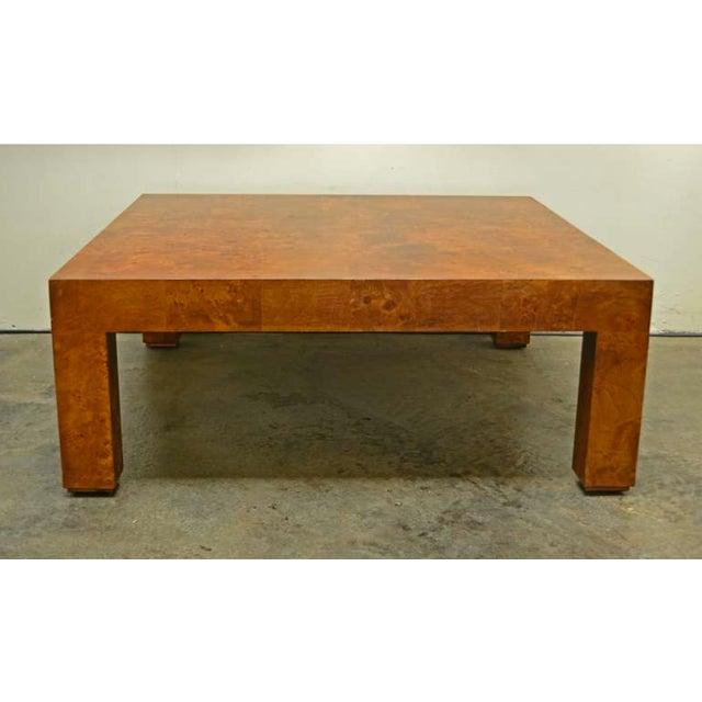 Burlwood Coffee Table By Milo Baughman Chairish