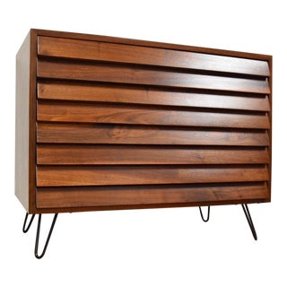 American of Martinsville Louvered Dresser