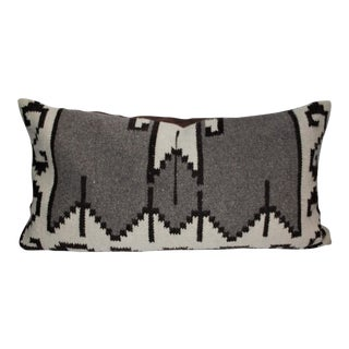 Mexican Indian Weaving Geometric Bolster Pillow