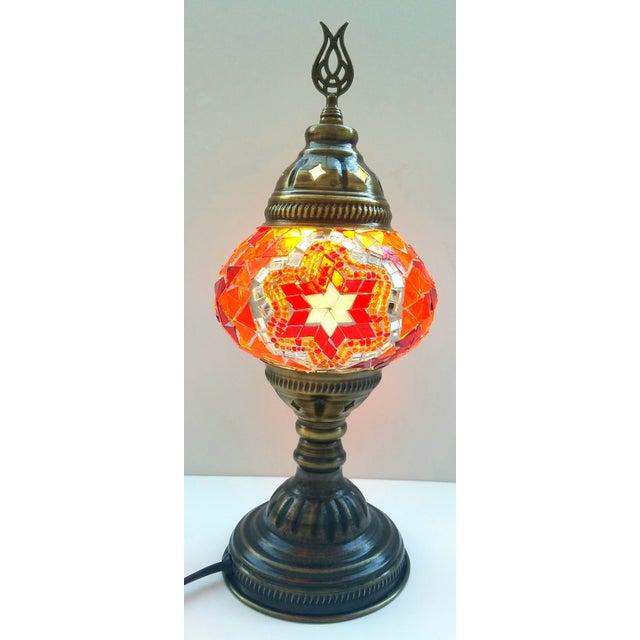 Mosaic handmade table lamp chairish - Handmade table lamp ...