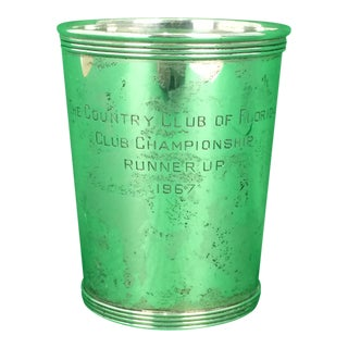 "Newport Sterling ""The Country Club of Florida"" 1967 Julep Cup"