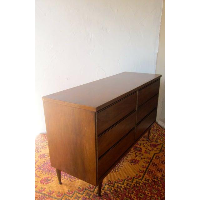Image of MCM Mid Century Modern Wood Credenza