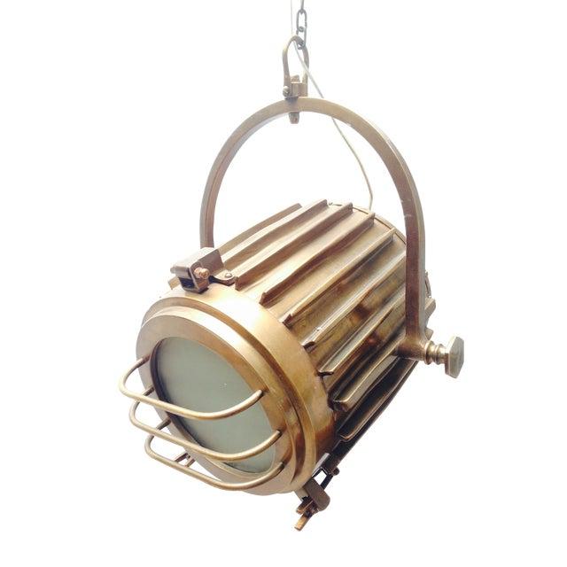 Bronze Industrial/Nautical Hanging Pendants - Image 1 of 11