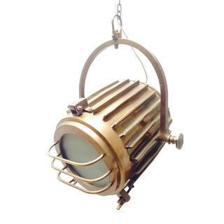 Bronze Industrial/Nautical Hanging Pendants