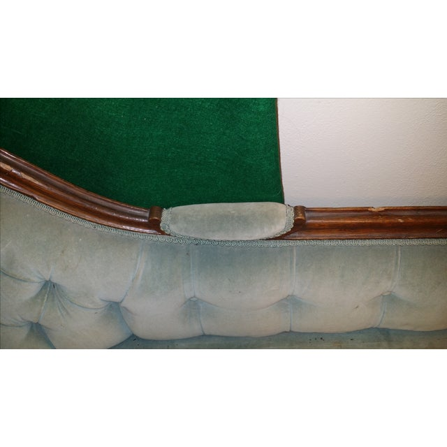 Antique Victorian Fainting Couch - Image 9 of 10
