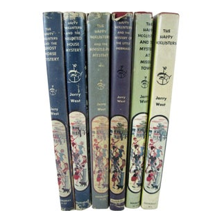 Happy Hollisters Books - Set of 6