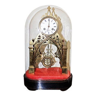 Antique French Skeleton Clock