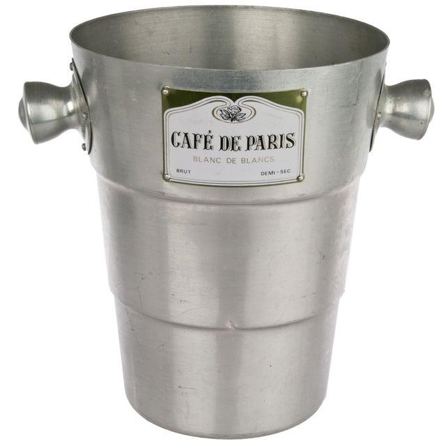 Café de Paris Aluminum Champagne Bucket - Image 1 of 4