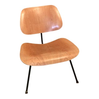 1950s Eames LCM Birch & Blackened Iron Chair