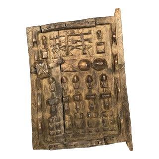 African Art Dogon Door
