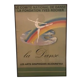 """European Modern """"La Danse"""" Poster"""