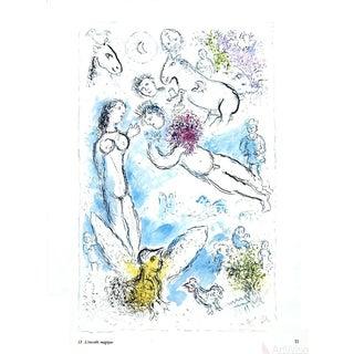 Marc Chagall l'Envolee Magique 1981 Poster