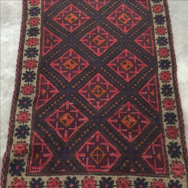 Baluchi Persian Rug - 2'8 x 5'7'' - Image 3 of 7