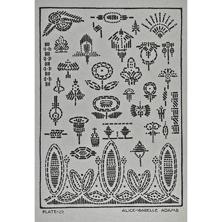 Circa 1920 Textile Design Print