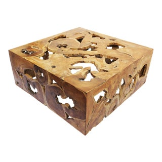 Teak Root Organic Coffee Table
