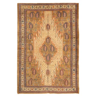 Exceptional Antique 19th Century Hamadan Mazlagan Rug