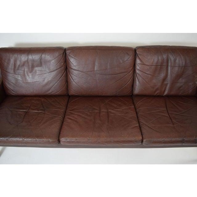 Image of Rud Thygesen Danish Leather And Rosewood Sofa