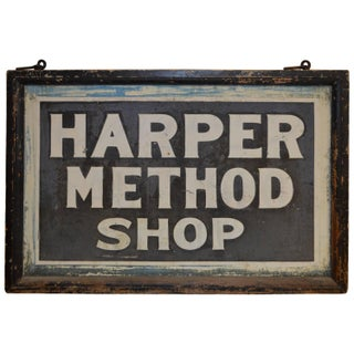 Sign for Shop Created by Martha Matilda Harper