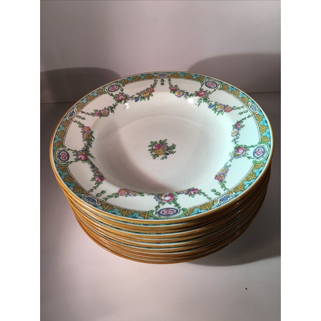 Antique Minton B935 Soup Bowls - 10 - Image 2 of 9