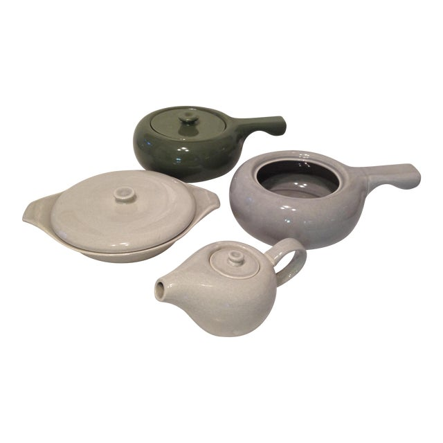 Russel Wright American Modern Serving Ware - S/4 - Image 1 of 11
