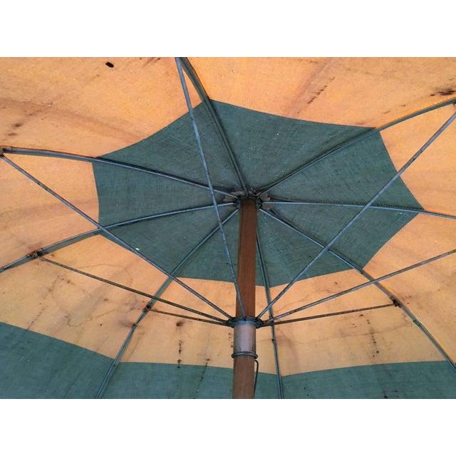 Vintage Canvas Umbrella - Image 5 of 8