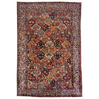 """Antique Bakhtiari Carpet - 17'5"""" x 11'9"""""""