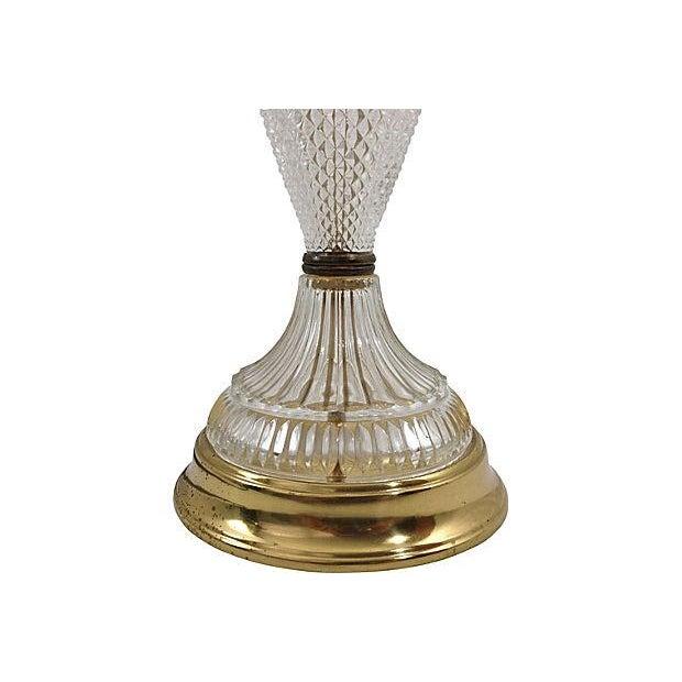Italian Diamond Point Table Lamp - Image 3 of 5