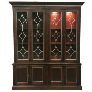 Ethan Allen Weston Double Bookcase