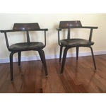 """Image of Walter Gropius """"W199"""" Chairs - A Pair"""