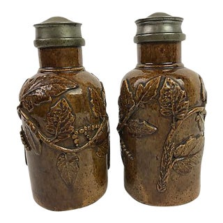 French Tobacco Jars, Pair