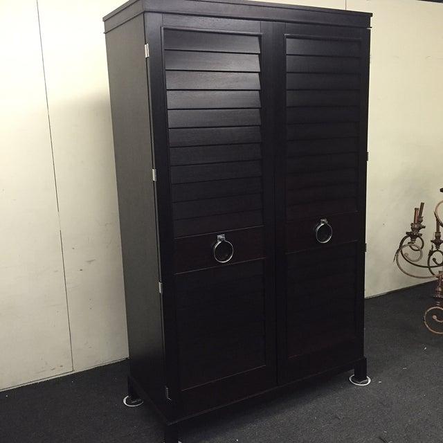Image of Double-Door Shutter Armoire