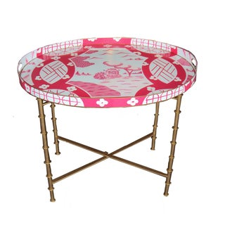 Canton in Pink Coffee Table