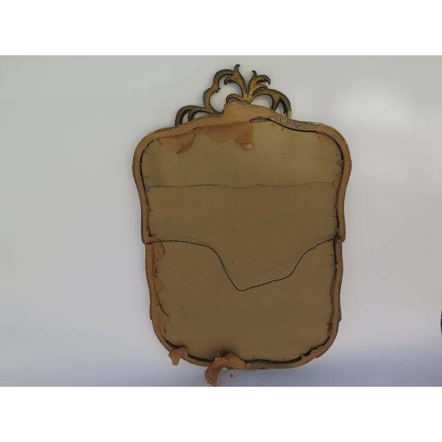 Antique Hand Carved Italian Mirror - Image 6 of 6
