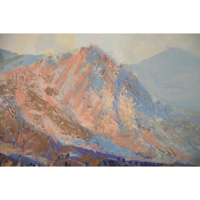 Indio Hills & Valley Desert Landscape Painting - Image 4 of 10