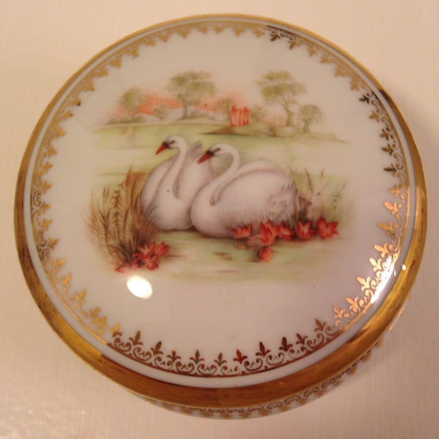 Vintage Swan Box - Image 2 of 6