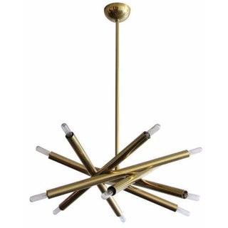 Spiral 6-Arm Chandelier