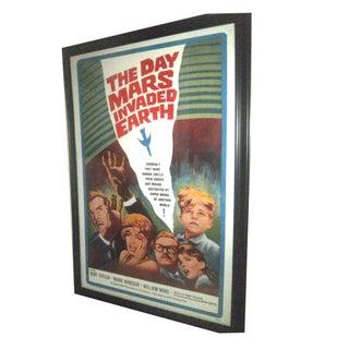 Original 1962 Sci-Fi Movie Poster