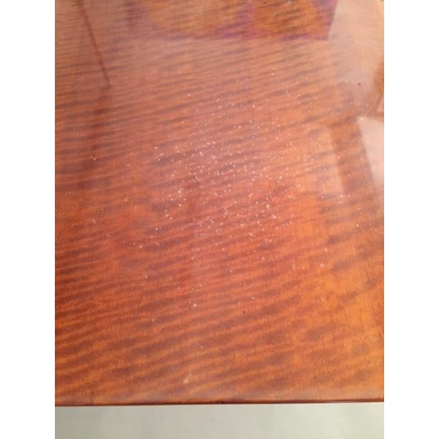 Image of Leavitt Weaver Deco Burl Wood Console