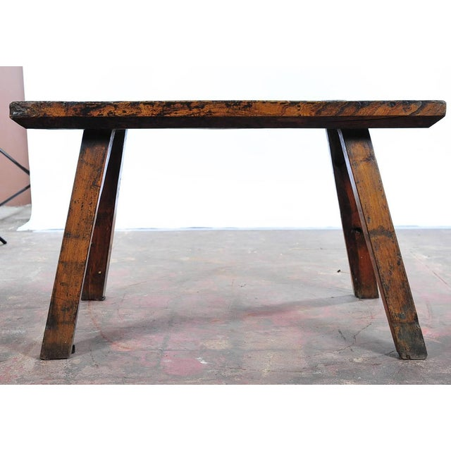 18th Century Antique French Rustic Farm Table - Image 10 of 11