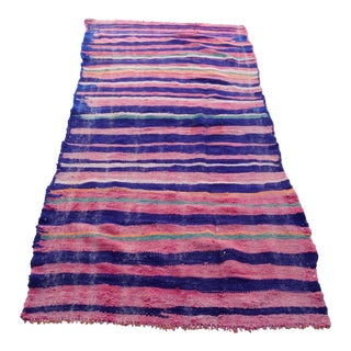 Vintage Persian Wool Kilim